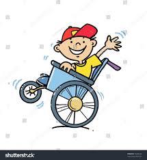 Boy Wheelchair Stock Vector 76434634 Shutterstock
