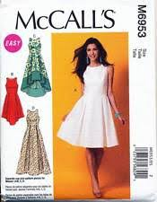 Fit And Flare Dress Pattern Classy Burda Sewing Pattern 48 Misses Sz 4848 Fit Flare Dress With
