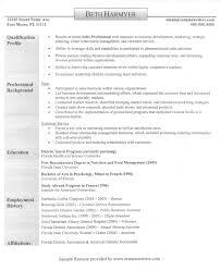 profile sample resume  seangarrette coprofile sample resume   sample profile on resume