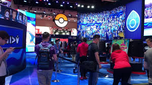 I was very excited to see. A Look At The Nintendo E3 2019 Pokemon Booth Youtube