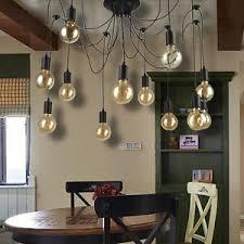 pendant lighting edison. Image Is Loading Vintage-Multiple-Ajustable-DIY-Ceiling-Spider-Lamp-Light- Pendant Lighting Edison L