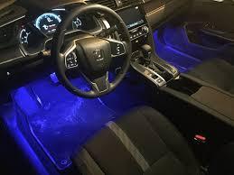 led footwell lights 2016 honda civic forum (10th gen) type r 2017 Audi A4 Headlights at Footwell Fuse Box A4 2017