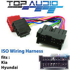 car audio & video wire harnesses for hyundai santa fe ebay 2007 Hyundai Santa Fe Wiring Harness fit hyundai santa fe sm iso wiring harness adaptor cable connector lead loom 2007 hyundai santa fe wiring harness