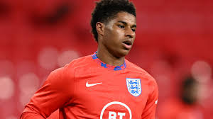 Marcus rashford, who captained the team, converted the penalty after a slow, stuttering run. Marcus Rashford Manchester United Striker Joins England Squad Despite Foot Injury Football News Sky Sports
