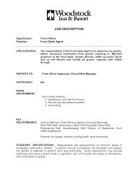 Ideas Of Desk Clerk Resume Front Desk Clerk Resume Samples