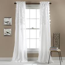 Kitchen Curtains At Walmart Avery Window Curtain Set Of 2 Walmartcom