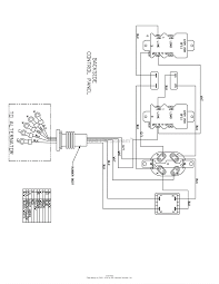 Briggs and stratton power products 030551 00 5 000 watt portable at wiring diagram