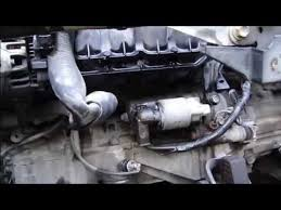 How to replace start motor Toyota Corolla VVT-i engine. Years 2000 ...