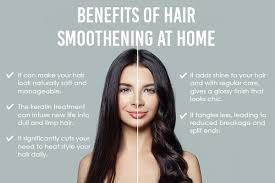 best way to do hair smoothening at home