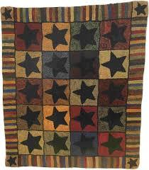 129 00 folk art stars by polly minick