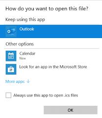 Office Calender Add An Icalendar Ics To An Outlook Calendar But Be Careful