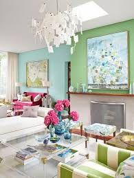 ... Luxury Home Design Blogs With Glass Table With Flower Pot And Gray  Sofas Also ...