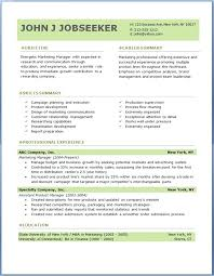 Professional Resume Format Executive Resume Template Simply Simple
