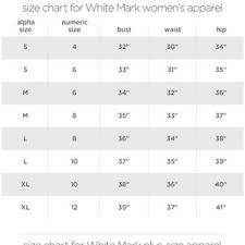 White Mark Size Chart Puffer Coat Diamond Quilted Hooded Black 889 04 Boutique