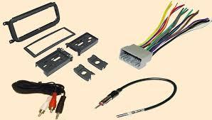 com radio stereo install dash kit wire harness antenna adapter for dodge caravan 02 06 dakota 03 04 durango 02 03 intrepid 02 04