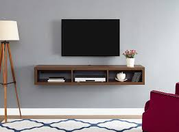stands for under wall mounted tv. Plain Wall Martin Home Furnishings Shallow Wall Mounted TV Stand For TVs Up To 60 Throughout Stands For Under Tv I