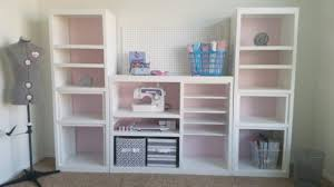 after picture diy 90s entertainment center turned craft room storage organizer wall unit furniture makeover