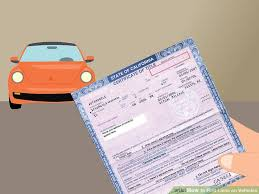 car lien release new jerseyHow to Find Liens on Vehicles 9 Steps with Pictures  wikiHow