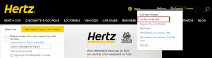 Hertz Points Redemption Chart A Complete Guide To The Hertz Gold Plus Rewards Program 2019