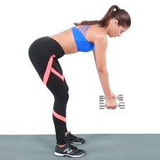dumbbell row 12 reps each side quick tip if you don t have a bench available