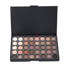 40 colors shimmer eye shadow pact palettes earth warm luminous sets makeup palette eye shadow cosmetic eyeshadow pearl tslm1 in eye shadow from beauty