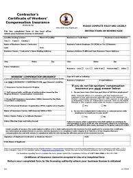 workers compensation ct form washington state class codes