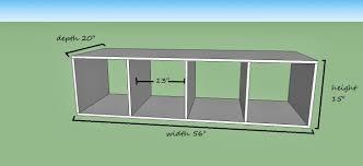 Mudroom Cubbies Plans Remodelaholic Diy Entryway Mudroom With Cubbies For Under 150