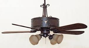 western style ceiling fans popular copper canyon laramie fan rustic lighting regarding 7
