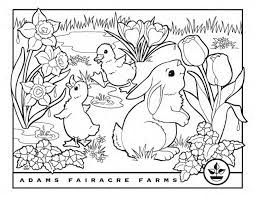 Printable coloring pages are fun and can help children develop important skills. Easter Coloring Pages Adams Fairacre Farms