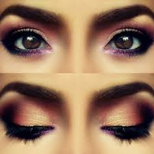 the rose petal eye look is great for any brown e see the beautiful effect when the eyes are open and closed you ll have hot guys staring down your