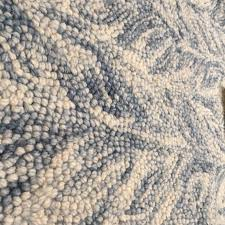rug west elm blue rug unique new vines wool in lagoon 6 x 9 nwt