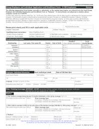 health insurance waiver form template employee health insurance waiver form template fill out online