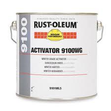 Rustoleum 9100 Winter Grade Epoxy 9101wg Standard Colours 4 5l