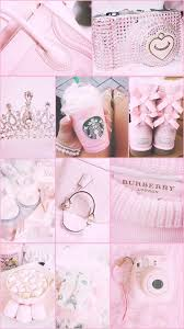 Cute Pink Pastel Aesthetic Background ...