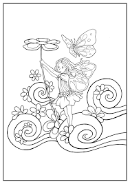 Select from 35478 printable coloring pages of cartoons, animals, nature, bible and many more. Fairy To Download Fairy Kids Coloring Pages