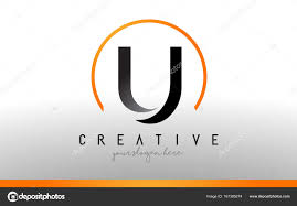 Cool Letter Designs Cool Letter U Designs U Letter Logo Design With Black