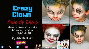 Easy Halloween Face Painting Designs Easy Crazy Clown Halloween Face Painting Ideas