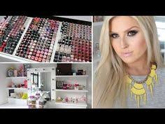 makeup collection storage shaaanxo 2016