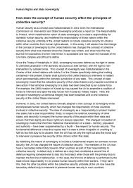 international relations notes oxbridge notes the united kingdom essay how does the concept of human security affect the principles of collective security