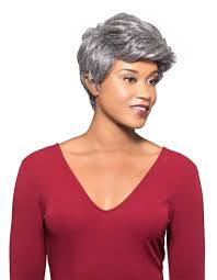 Fs4 27 Color Chart Amazon Com Milly Wig Color 44 Charcoal Gray Foxy Silver