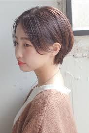 前髪なしが大人っぽさのカギ美人スタイルカタログhair