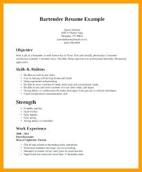 Bartender Resume Template New Bartender Resume Template Australia Bartending Templates Resumes
