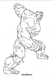 Disegni Di Hulk Da Colorare Giocabimbo