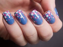 Blue and pink gradient dots (+ Tutorial) | Chalkboard Nails | Nail ...