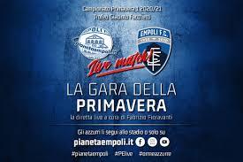PRIMAVERA | Empoli - Milan finisce in parità: 1 - 1 - PianetaEmpoli