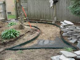 site prep for flagstone walkway troy mi
