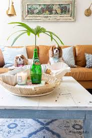 how to style decorate a coffee table