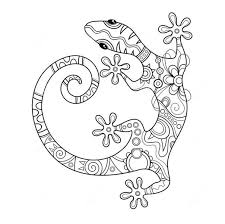 Small Picture 265 best Adult ColouringDragonsLizards SnakesZentangles