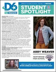 Student Spotlight: Abby Weaver, Northridge High School