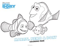 colouring in picture. Delighful Picture Finding Dory Colouring Sheet Thumbnail Image In Picture R